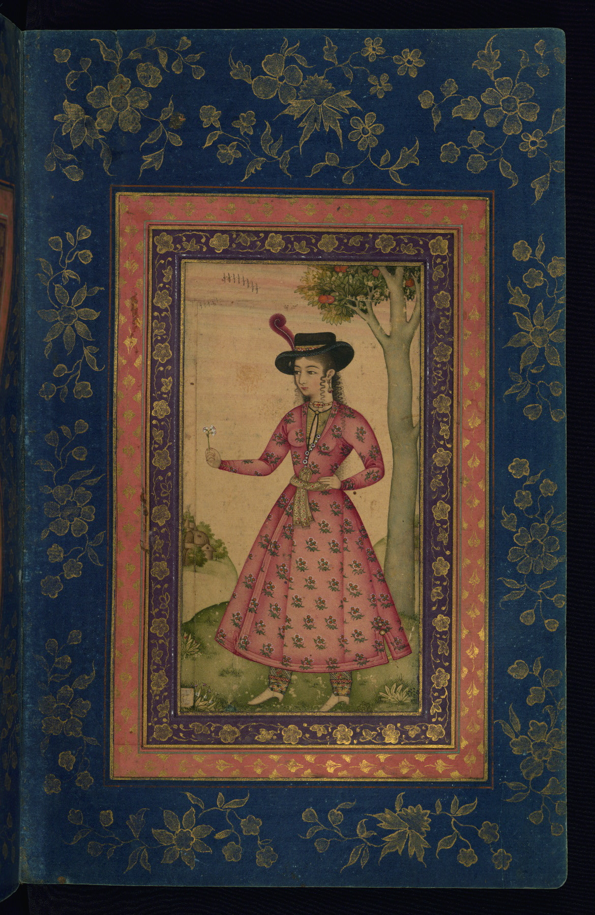Walters Ms  W 668, Album of Persian and Indian calligraphy and paintings