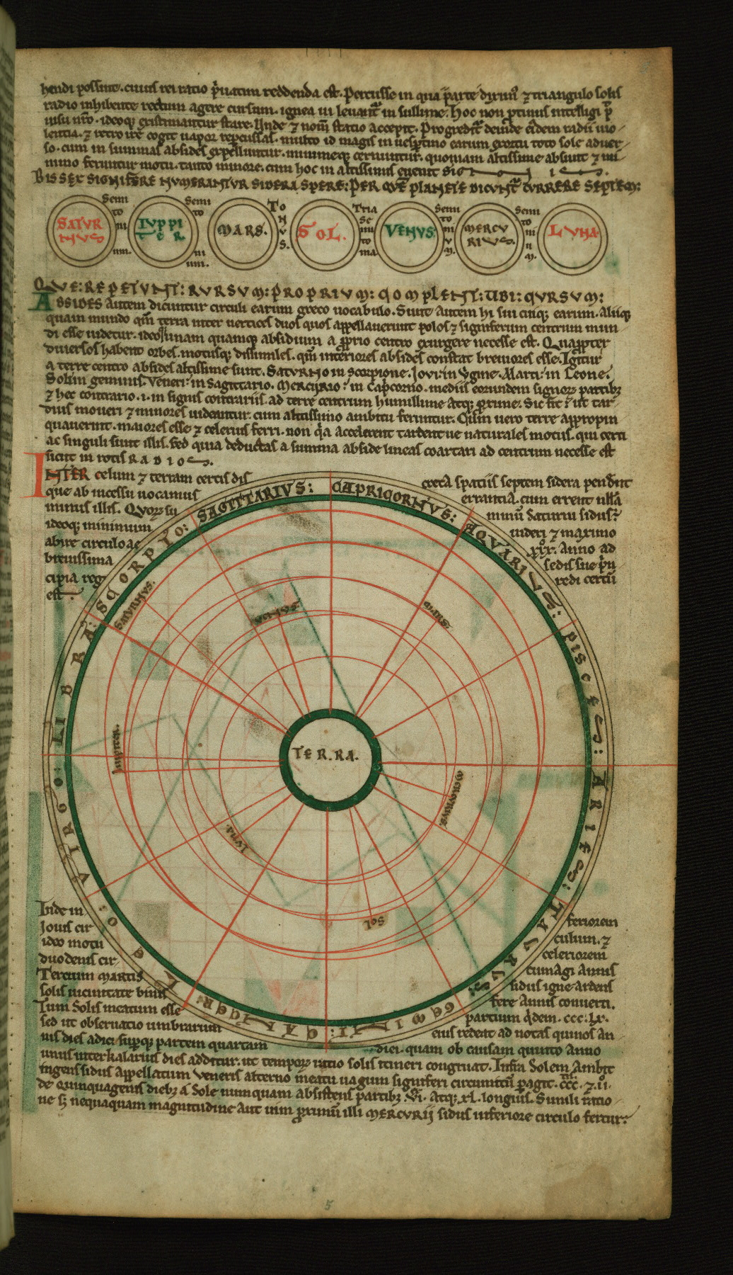 walters ms  w 73  cosmography